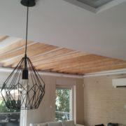 """Стени: ERA в структура, таван: Travertino """"на гладко"""""""