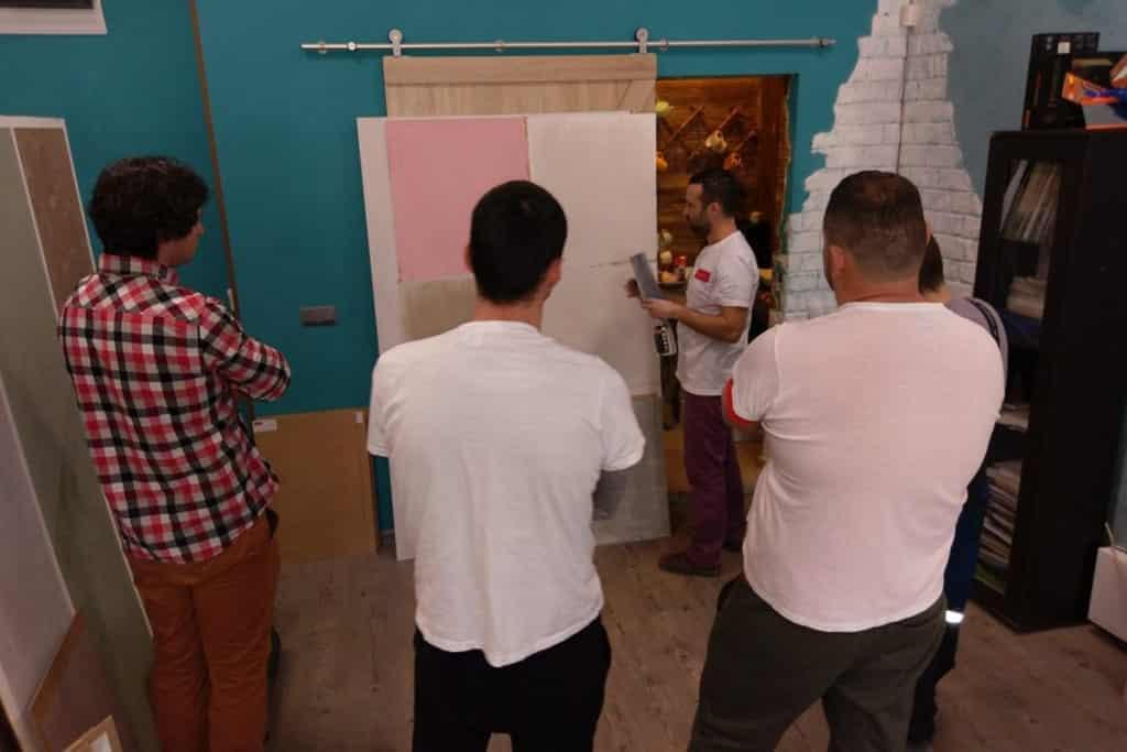 Практическо обучение за декоративни варови мазилки и бои