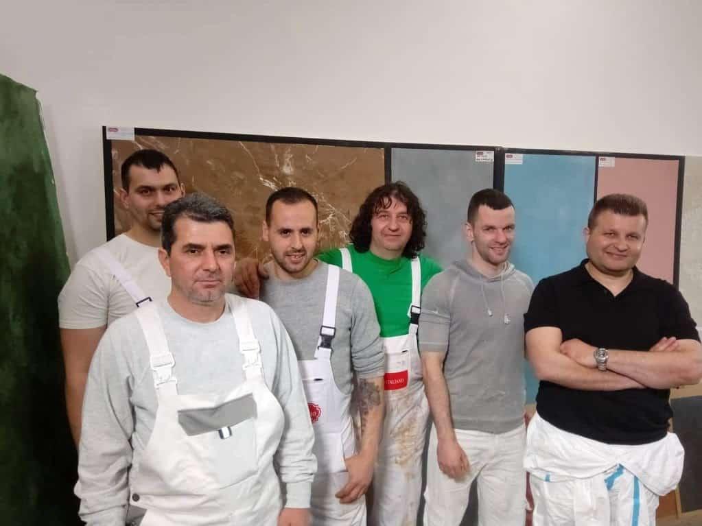 Практическо обучение за работа с декоративни варови мазилки: 24-25 юли 2019